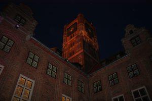 Wieża nocą, fot. H. Smolarek