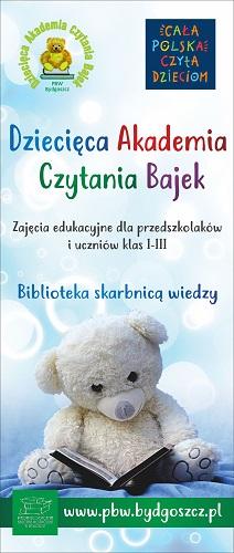baner Dziecięcej Akademii Czytania Bajek