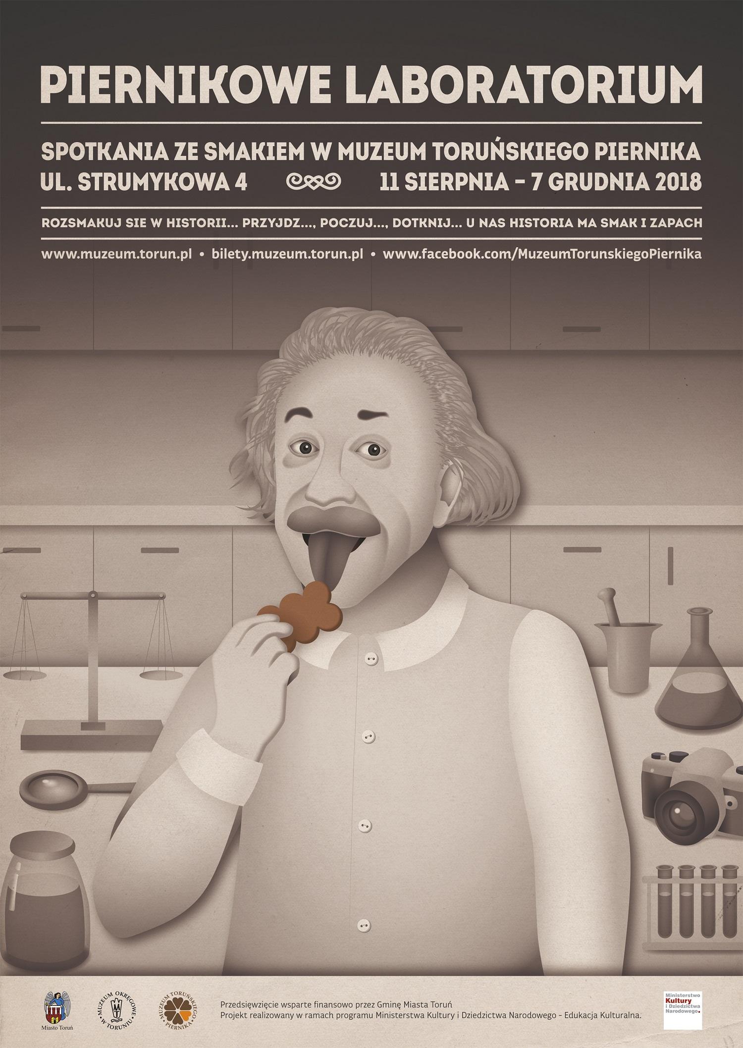 Piernikowe Laboratorium plakat