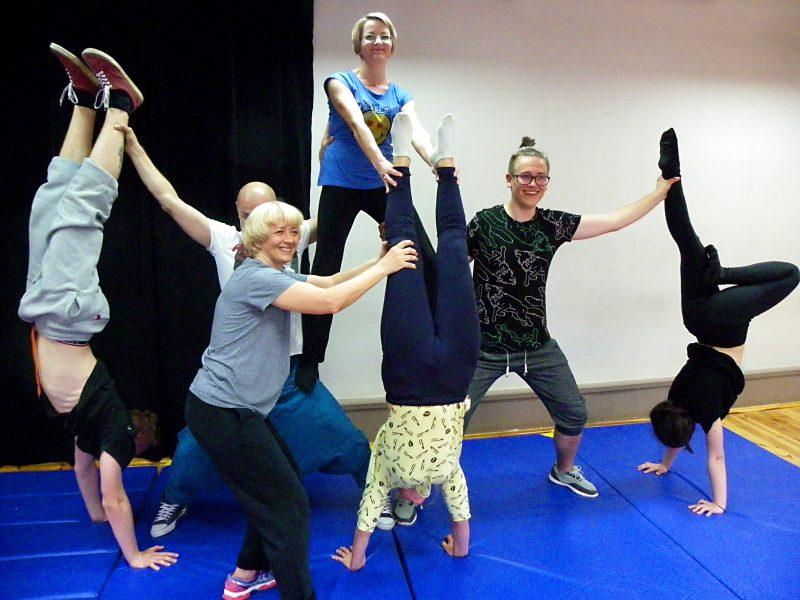 Pedagogika cyrku - warsztaty