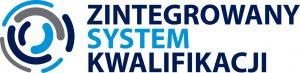 Zintegrowany System Kwalifikacji - logo z tekstem