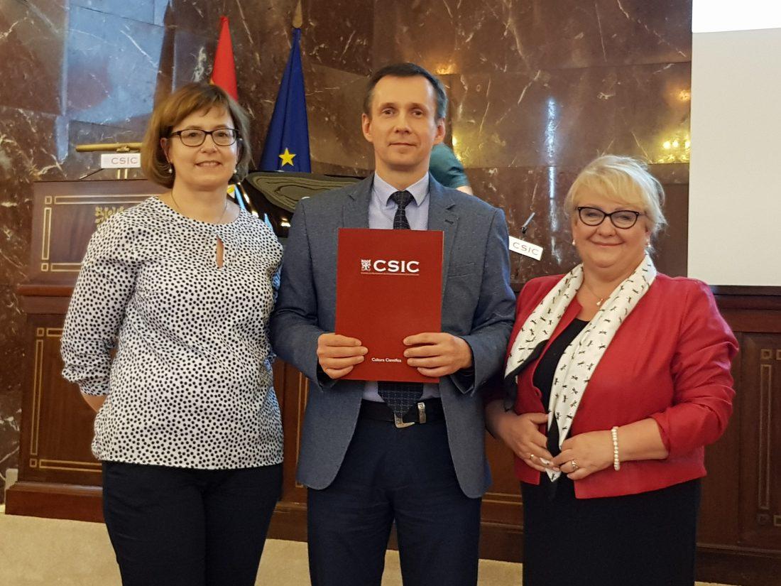 Delegacja KPCEN w Bydgoszczy z Nagrodą Archimedesa