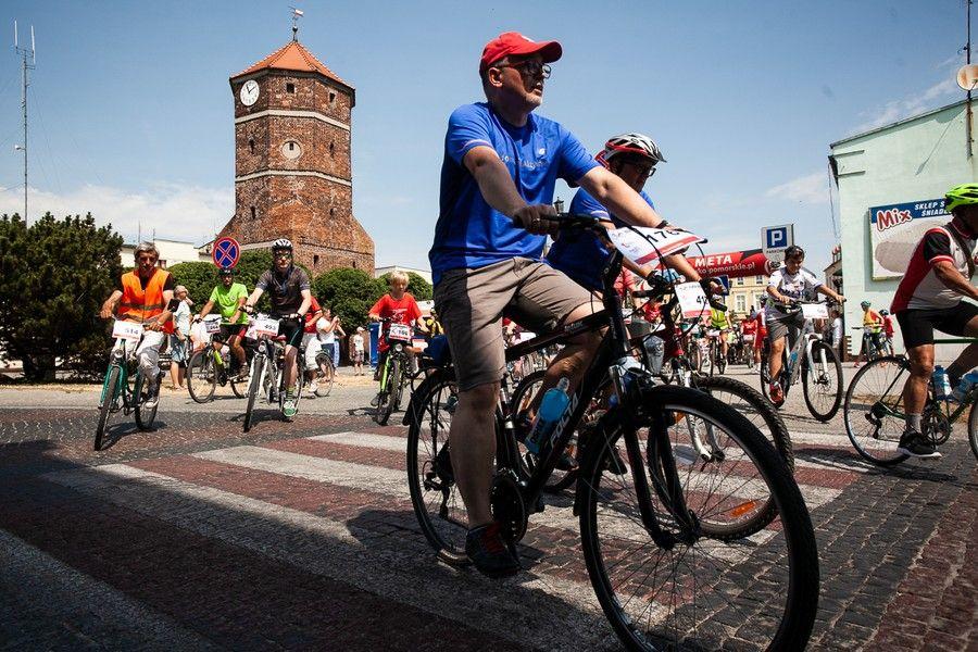 Ubiegłoroczny rajd rowerowy w Żninie, fot. Filip Kowalkowski