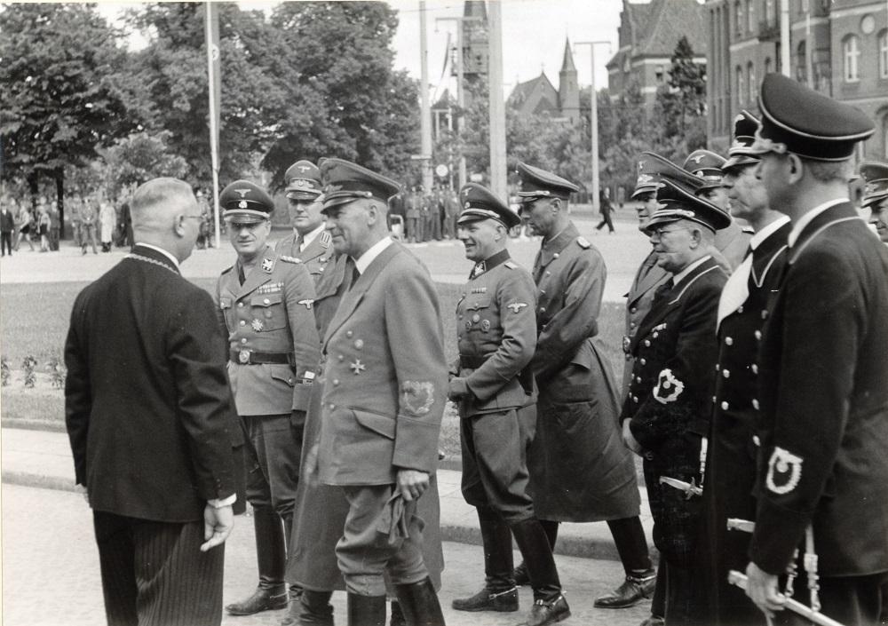 Wizyta w Toruniu ministra spraw wewnętrznych Rzeszy Wilhelma Fricka