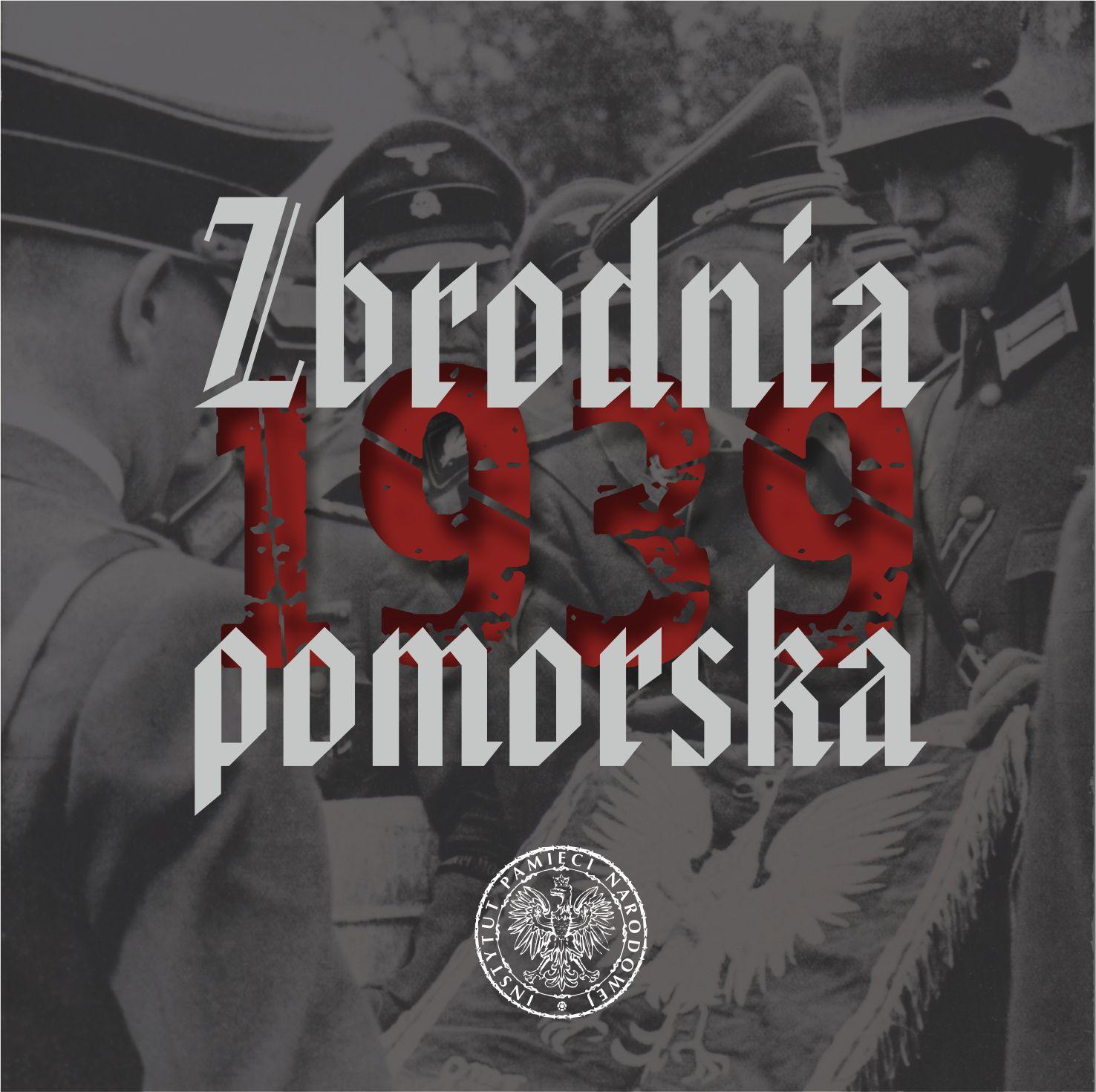 """Okładka płyty """"Zbrodnia pomorska 1939"""""""