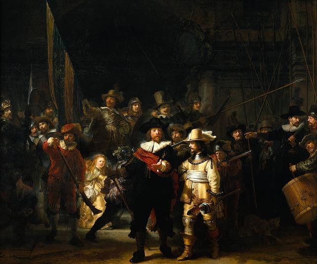 Wymarsz strzelców Rembrandta