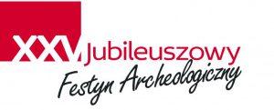logo jubileuszowe XXV Festynu Archeologicznego