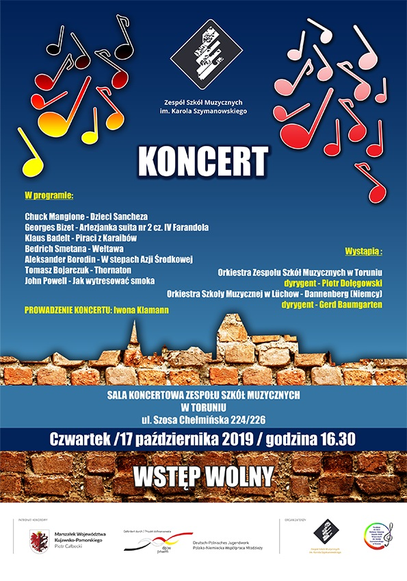 Koncert w ZSM w Toruniu